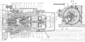 Головка автоматическая УГ9326 в разрезе