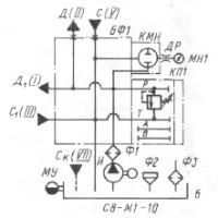 Гидравлическая схема СВ-М1-10