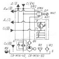 Гидравлическая схема СВ-М1А-40-63