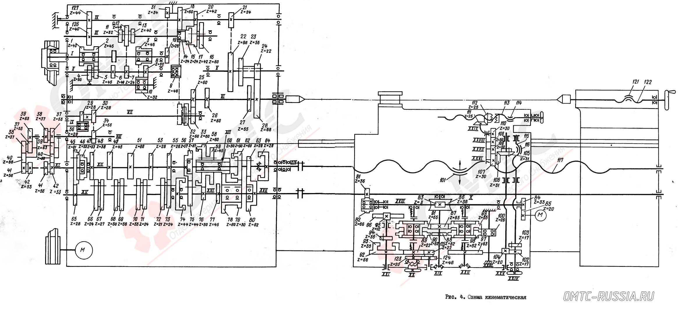 кинематическая схема 2н135