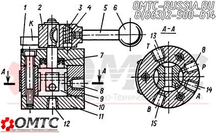Конструкция крановых распределителей Г71-31