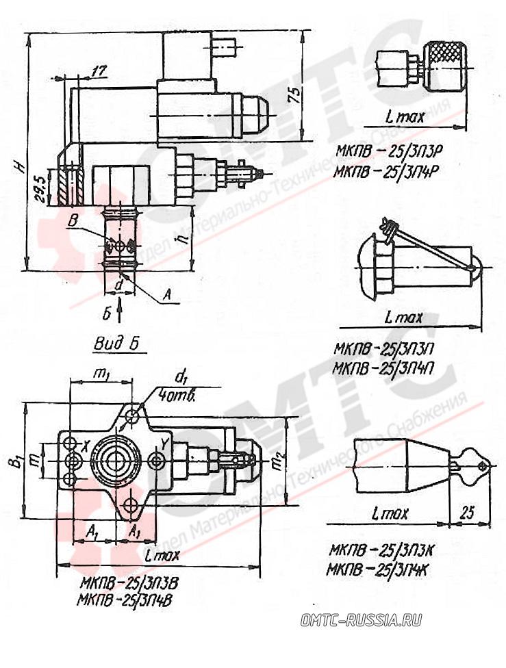 МКПВ-25/3П3…, МПКВ-25/3П4…